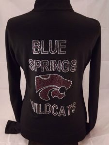 Bling Cheer Jackets for Blue Springs Wildcats