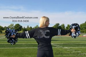 Custom Cheer Apparel from Crystallized Couture