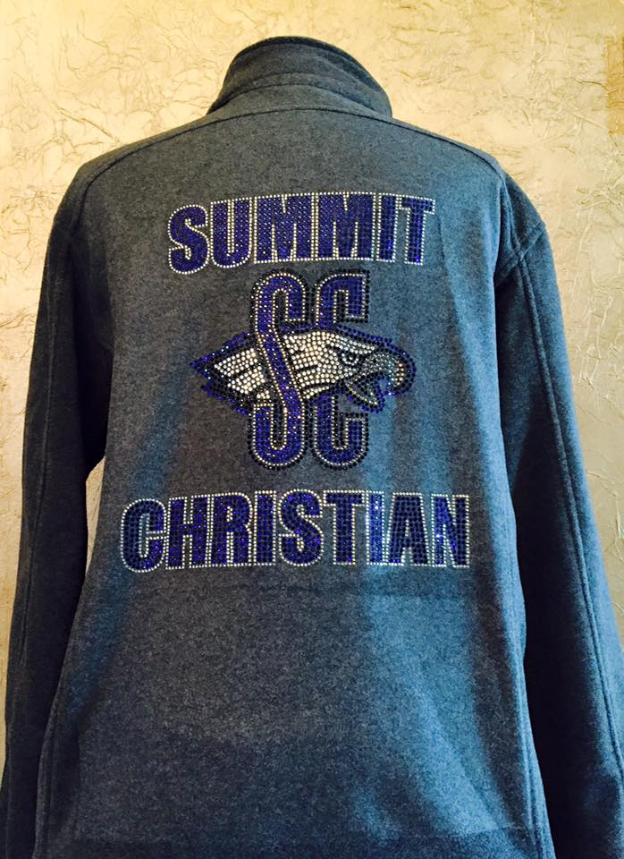 Summit Christian Rhinestone Cheer Jacket