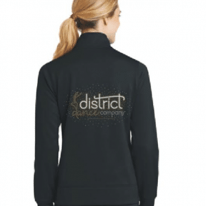 custom bling dance jacket created by Crystallized Couture