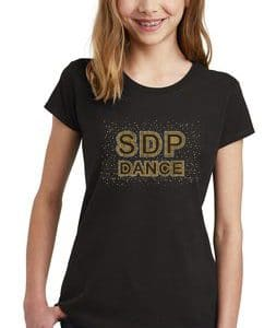 Custom dance girl shirts by Crystallized Couture