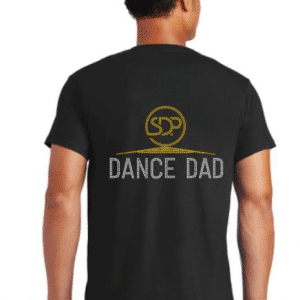 Custom dance dad shirts by Crystallized Couture