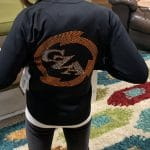 Custom dance jackets with rhinestones by Crystallized Couture