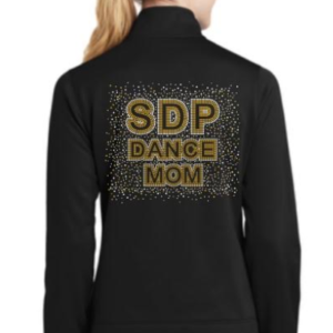 Dance mom jackets with rhinestones by Crystallized Couture