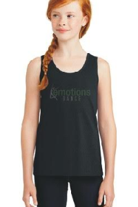 Custom bling dance tank tops by Crystallized Couture
