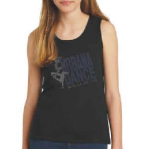 youth tank tops with rhinestones