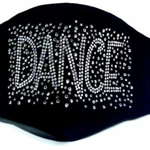 bling dance mask by Crystallized couture
