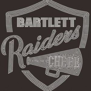 Bartlett Raiders custom bling by Crystallized Couture