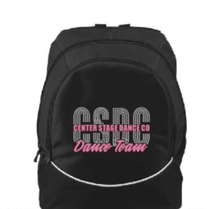 Custom bling backpack by Crystallized Couture