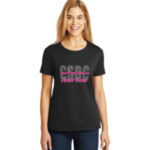 Center stage dance company dance team tee by Crystallized Couture