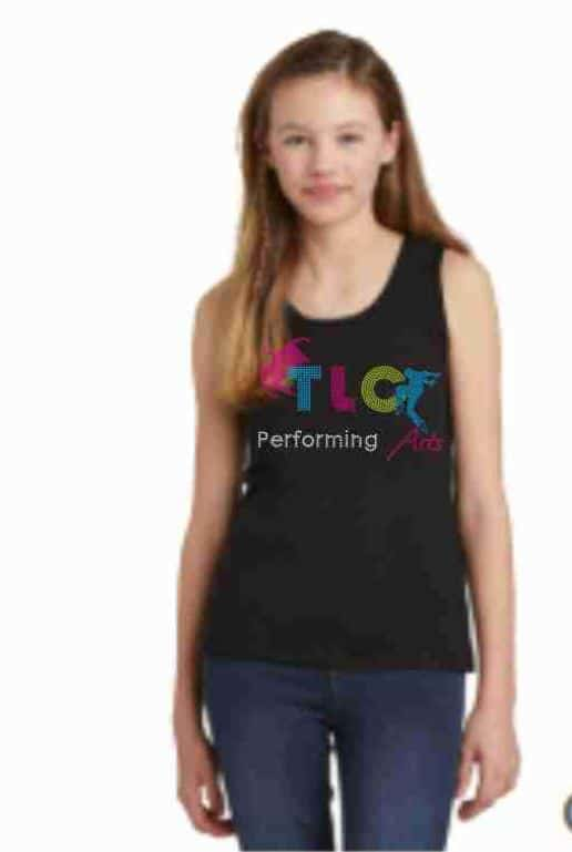 Custom bling tank top by Crystallized couture
