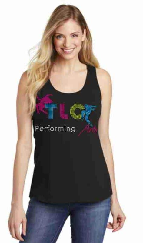 TLC peforming arts tank top by Crystallized Couture