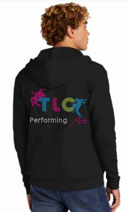 Custom mens dance team jackets by Crystallized Couture TLC performing arts