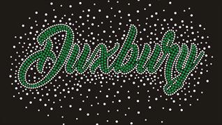 Duxbury rhinestone cheer jackets
