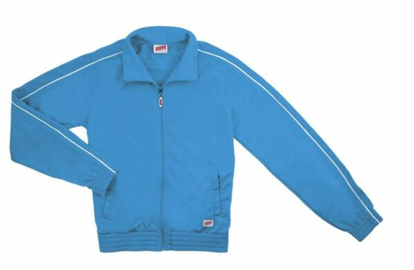 brush tricot polyester cheer team jacket