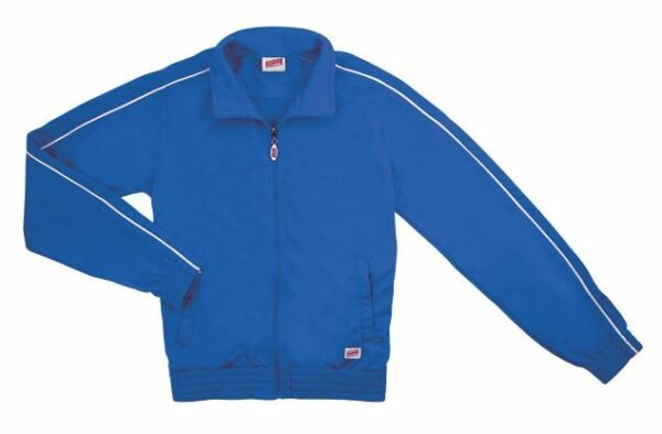 brush tricot polyester cheer team warm ups